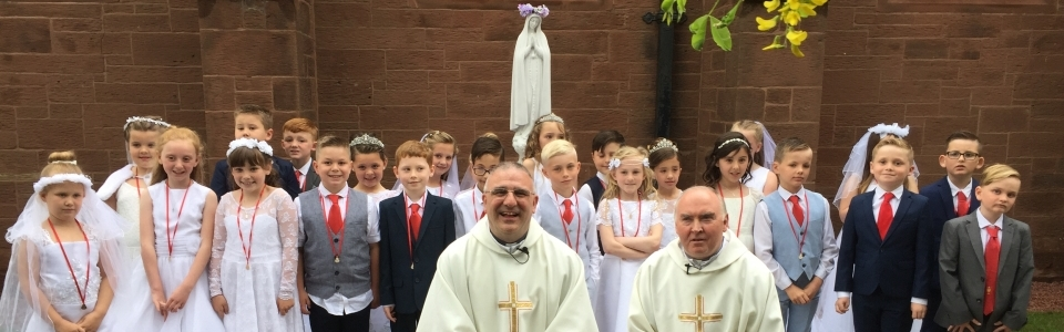 First Communion 2017.